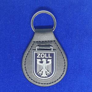 Zoll Leder Schlüsselanhänger # Polizei