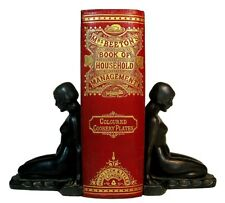 1869 ANTIQUE COOKBOOK Mrs. Beeton's HOUSEHOLD Victorian Home Kitchen RECIPES