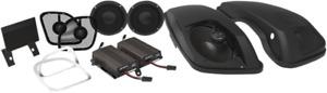 Wild Boar Big Pig Front & Rear Speaker Amp Kit 2015-2020 Harley Road Glide FLTRX