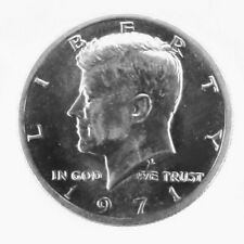 1971 - 50c USA Kennedy Half Dollar Silver Clad US Mint Coin