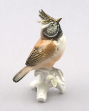 Karl Ens Volkstedt Porcelain Germany, Crested Tit Figurine #7341