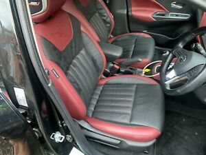 Nissan Micra K14 2017-2019 MK5 Full Leather Interior With Door Cards Front Bose.