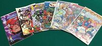 WILDCATS lot (7) issues #1-4-6-14-15 Special & ADV (1992/1994) Image Comics FINE