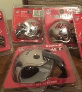 TEN x Pocket Pro Helmets Tampa Bay Buccaneers Chrome Vers in original packing