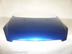 Peugeot 307 F Bj01-05 Orig Motorhaube m. Dämmatte blau KMF keine Dellen Rostfrei