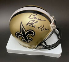 Coach Bum Phillips SIGNED New Orleans Saints Mini Helmet PSA/DNA AUTOGRAPHED