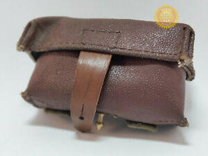 SKS ammo pouch Stalin 1952 year 100% original Ussr Soviet Russian Leather kirza