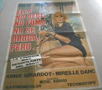 ARGENTINIEN,  Filmplakat,QUE VICIO TIENE ?,ANNIE GIRADOT,MIREILLE DARC#34