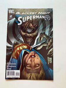 Blackest Night: Superman #2 of 3 (DC Comics, 2009) VF
