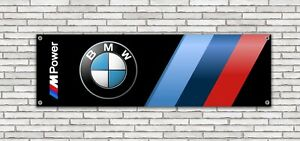 Bannière Banner banderole affiche PVC BMW M POWER Garage Car Atelier
