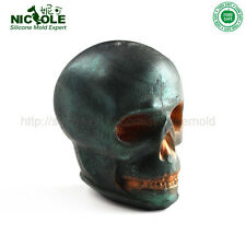 Nicole Silicone Soap Molds Halloween Skull Head Shape Silicone Candle Molds
