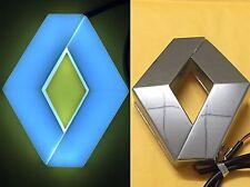4D Car Logo white Light for Renault Koleos Megane Auto Badge Light