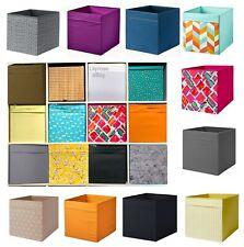 IKEA Drona Storage Box Canvas Shelf Folding Organiser Expedite Kallax Chest  ✅