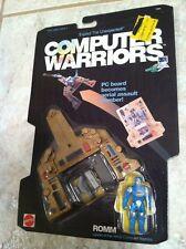 VINTAGE 1989 MATTEL COMPUTER FORCE WARRIORS ROMM MOC