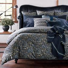Ralph Lauren Home Journey's End Rainey Floral KING Comforter Cotton Navy $430 NW