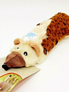 SKINNEEEZ Big Bite JACKAL Stuffing Free Dog Toy W/ Empty Water Bottle Inside NEW