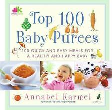 Top 100 Baby Purees-ExLibrary
