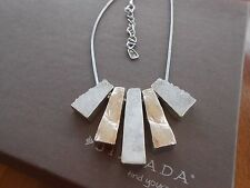 """RETIRED Silpada Sterling Silver and Druzy """"Prestige"""" Necklace - N2923"""