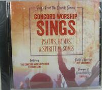 Concord Worship Sings Psalms, Hymns, & Spiritual Songs (CD, 2019) Word Music