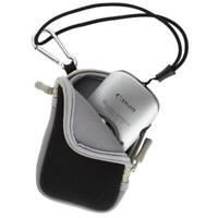 Universal Compact Case Bag Pouch For Pocket Canon Nikon Digital Camera Black