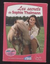 NEUF DVD LES SECRETS DE SOPHIE THALMANN SOUS BLISTER PASSION CHEVAL DOCUMENTAIRE