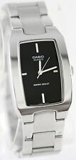 Casio MTP-1165A-1C Men's Analog Watch Stainless Steel Band Black Face New
