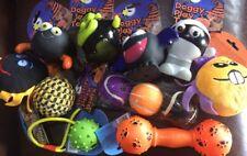 Halloween Dog Toys Joblot X10 Dog Balls Squeaky Toys