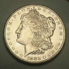 Stunning 1883-CC Morgan Dollar Silver Coin ~ GEM BU ~