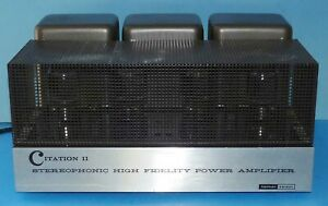 Harman Kardon Citation II Tube Stereo Power Amplifier Pro Serviced