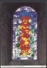 Durham Postcard - Durham Cathedral - North Nave Window    T1159