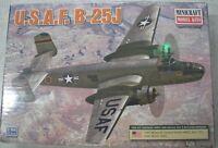 Minicraft 1/144 USAF B-25J Plastic Model Kit, item 14653