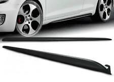 Minigonne laterali sottoporta Volkswagen VW Golf 6 VI GTI Look nere