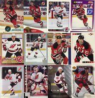 NEW JERSEY DEVILS 100 Different Card Team Lot BRODEUR ELIAS PARISE + 1990-2015