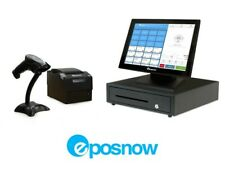 Retail Cloud Point of Sale System- ePosnow Pos Hardware Bundle + Barcode Printer