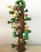 Animation Pokemon 8PCS/Set  Miniature Forest Tree Collection  Figures No Box