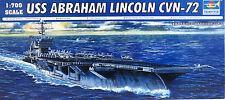 Flugzeugträger CVN-72,Abr.Lincoln,US Navy,Carrier,Trumpeter,05732, 1:700,NEUWARE