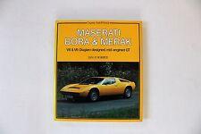 NEW Maserati Bora and Merak by Jan P. Norbye (1982, Hardcover)