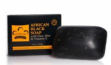 Nubian Heritage African Black Soap 5 oz/141 gm, Brand New Authentic Product