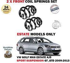para VW GOLF MK6 Ranchera Sport Suspensión GTD 2009-2013 2x DELANTERO BOBINA