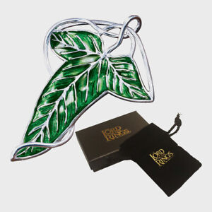 The Lord of the Rings Elven Leaf Brooch The Noble Collection
