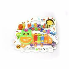 More details for childrens caterpillar musical instrument handheld xylophone including mallet