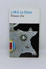 Poisson d'or - Jean-Marie Gustave Le Clézio - livre occasion
