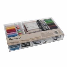 167 Pieces Professional Sewing Kit Repair Scissors Thread Pins Elastics