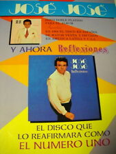 JOSE JOSE is EL NUMERO UNO 1984 Promo Poster Ad mint condition
