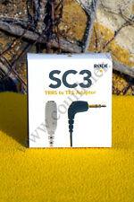 Câble Adaptateur Rode SC3 -Minijack 3.5mm TRRS/TRS Microphone Lavalier SmartLav+