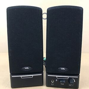 Cyber Acoustics Multimedia Computer Speakers Pair 2.O1