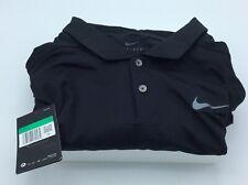 2019 Nike Dri Fit Vapor Reflect Golf Polo Black/reflective Silver X-large