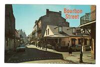 Bourbon Street New Orleans Louisiana Unused Vintage Postcard EB36
