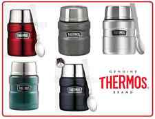 ❤ Thermos STAINLESS STEEL Vacuum Insulated Food Jar Container 470ml With Spoon ❤