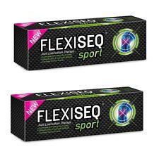 2 x FLEXISEQ Sport Gel 50g Entlastung Gelenkschmerzen und Steifigkeit Schmiert